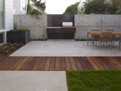 Contemporary Patio Design Outdoor Oven Ideas For Summer Concrete Wood Landscape Architecture And Modern Patio