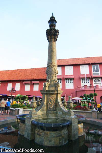 tribute   queen  victoria fountain  malacca