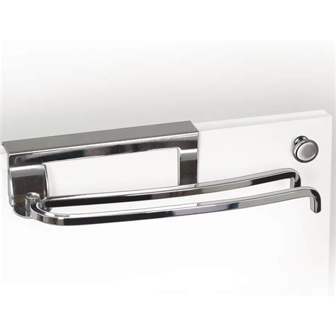 Cabinet Door Towel Bar Cabinet Door Towel Bar Chrome In Kitchen Towel Holders
