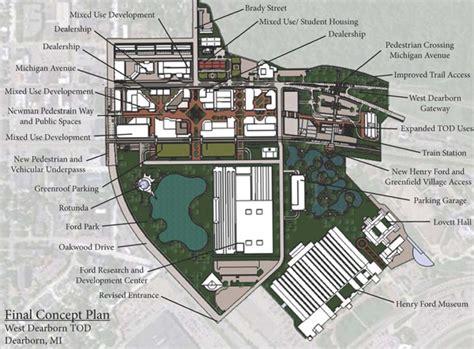 Floor Plan Making dearborn transit oriented development placemaking