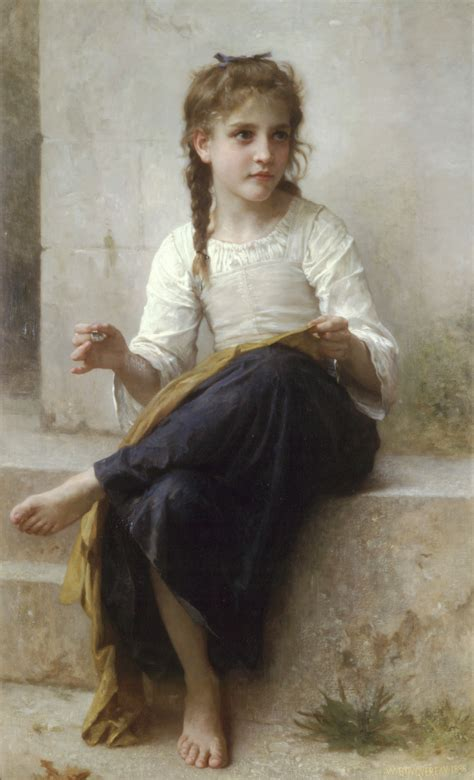 william adolphe bouguereau young girl file william adolphe bouguereau 1825 1905 sewing 1898
