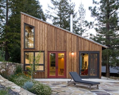 This Russian River Studio Blends Modern And Rustic Tiny House Plans Contemporary