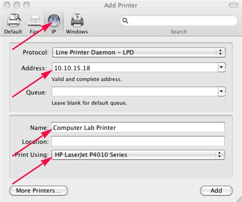 Printer Ip Address Lookup Collaborate Help Center
