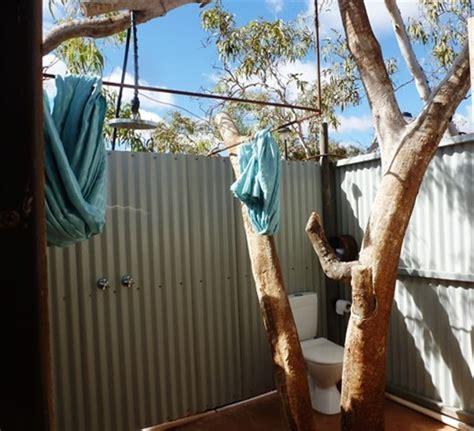 Bush Bathroom 18 06 2013 Bullara Station Australia Worldnomads