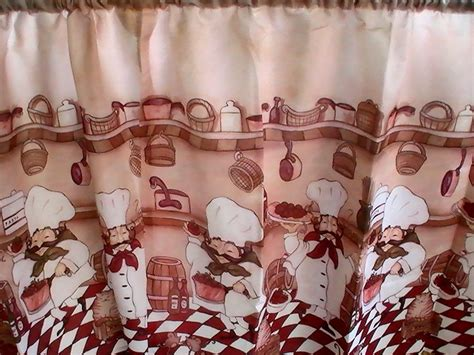 chef kitchen curtains chefs bistro kitchen cafe curtains jcpenney curtains