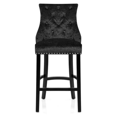 ascot bar stool black velvet atlantic shopping