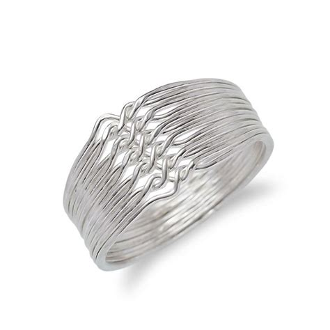 1000 images about turkish silver puzzle rings on