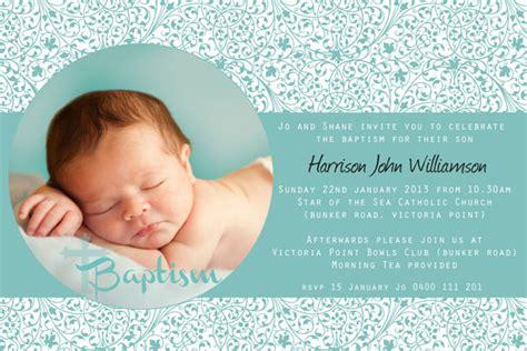 christening invitations australia boys baptism