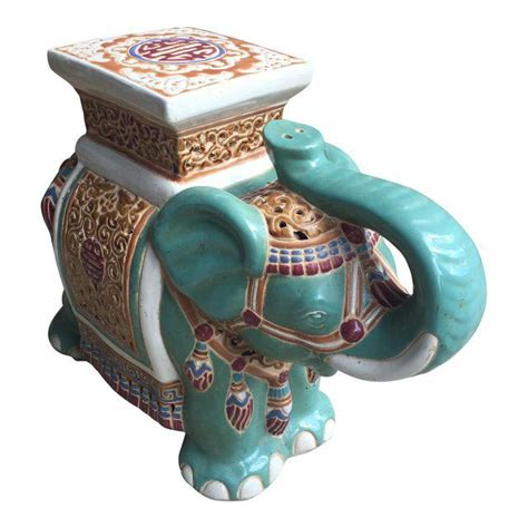 Vintage Elephant Garden Stool by Antique And Vintage Elephant Garden Stools Friday