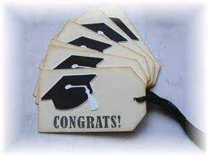 graduation tags items similar to graduation congrats gift tags 6 on etsy