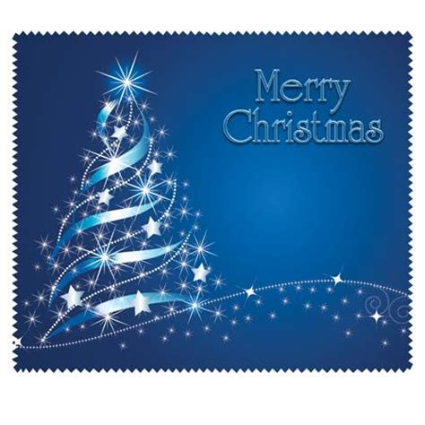 merry christmas blue bag   cloths