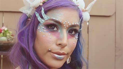 tutorial makeup mermaid siren mermaid makeup tutorial youtube