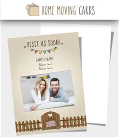 moving home cards template free 1000 images about change of address cards on