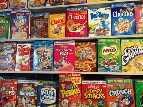 Popular Grocery Stores by Cereal Killer Cafe Business Insider