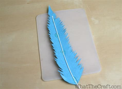 How To Make Paper Feathers - how to make paper feathers home decor tutorial