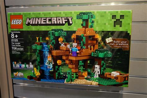 lego minecraft house 21125 the jungle tree house minecraft brickpicker