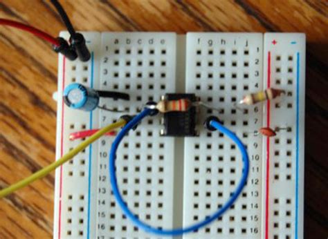 circuit city breadboard how to using a 555 timer as an external clock for the arduino make