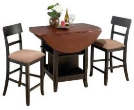 2 Chair Table Dining Sets Jofran Counter Height Leaf Table And 2 Chairs Cherry Traditional Dining