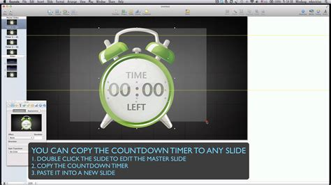 powerpoint countdown tutorial insert countdown timer for keynote youtube