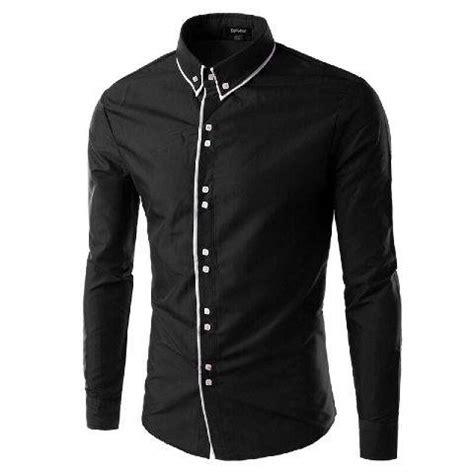 T Shirt Kaos Pria Lengan Pendek Think Positive kemeja pria formal dan casual deals for only rp69 000