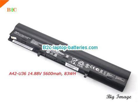 Original Baterai Asus U36 A42 U36 Hi Capacity 8 Cell asus a42 u36 battery for asus u32 u36 series laptop 14 88v 5600mah 83wh b2c laptop batteries