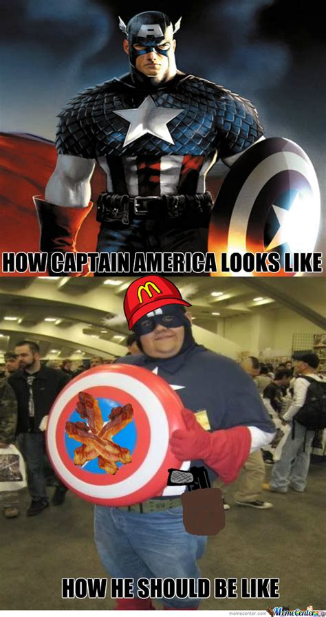 captain america  flexicon meme center