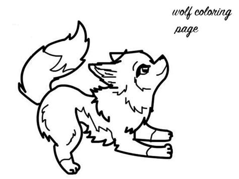 baby wolf coloring pages colouring pages baby wolf clipart best