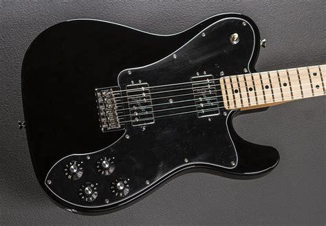 2016 Fender Telecaster American Pro Deluxe Usa Ori Like New american pro telecaster deluxe shawbucker black w maple