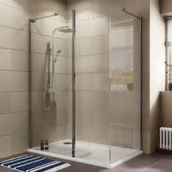 B Q Shower Baths Cooke Amp Lewis Luxuriant Rectangular Lh Shower Enclosure