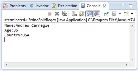 pattern regex exle java java string split string regex method exle
