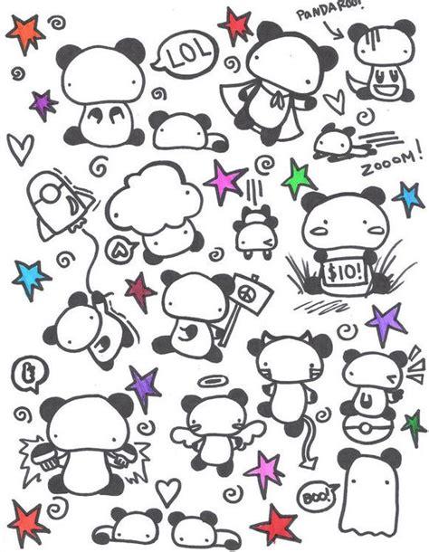 doodle panda panda doodles by splatterpup on deviantart