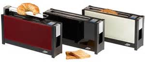 Thin Toasters Ritter Volcano 5 Is A Slim Toaster Made Of Glass