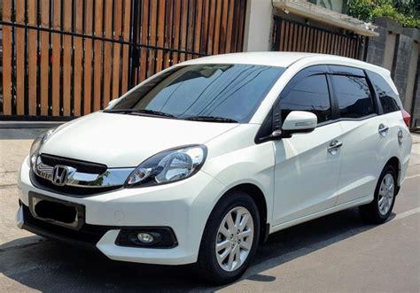 Honda Mobilio E Cvt honda mobilio e cvt at putih like new mobilbekas