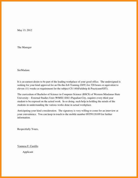 Doctor Cover Letter Sle by Application Letter Sle For Doctor 28 Images Application Letter Work Pressure 28 Images 10