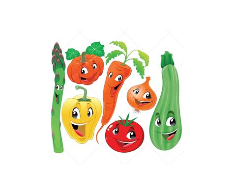 cartoon film about veg harvest illustration and garden vectors buy vector pack