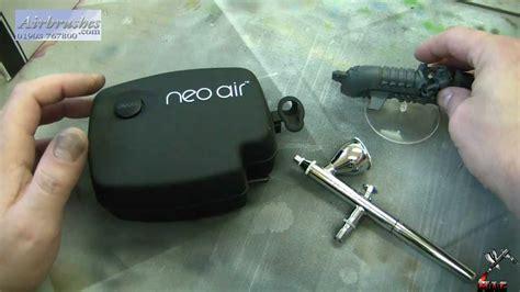 airbrush    part  neo air miniature desktop compressor youtube