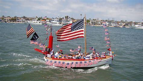 newport beach boat parade july 4th old glory boat parade visit newport beach