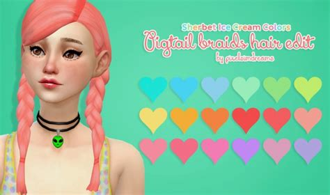 sims 4 custom content braids sims 4 custom content side braid newhairstylesformen2014 com