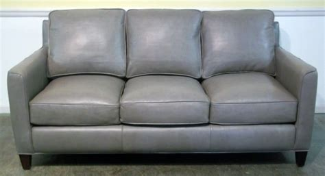 Gray Leather Sofa Blaine S Sofa Rain Street