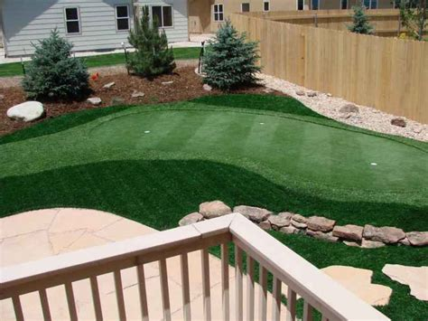 make a putting green in the backyard make backyard putting green image mag
