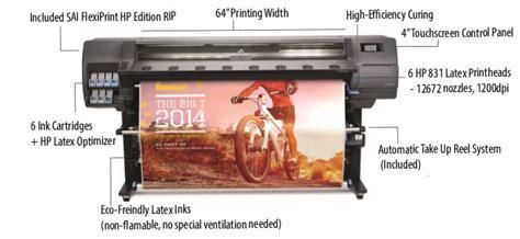 hp latex 335 printer 64 inch 1 63m 775ml cartridges hp latex 335 printer 64 quot wide format inkjet printer
