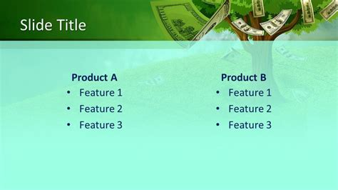 money tree powerpoint template  powerpoint