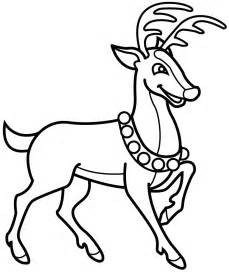 reindeer coloring pages reindeer color page az coloring pages