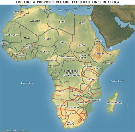 africa map oceans africa s new map