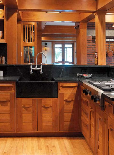 arts and craft kitchen cabinets craftsman kitchen cabinets arts crafts homes and the revival