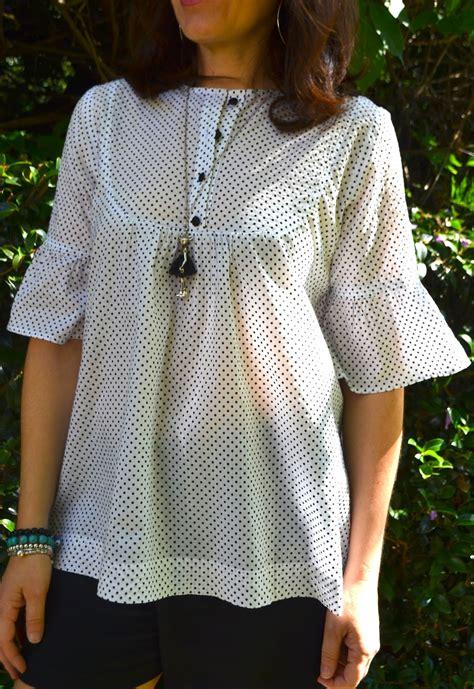 free pattern tunic dress sew tessuti blog sewing tips tutorials new fabrics