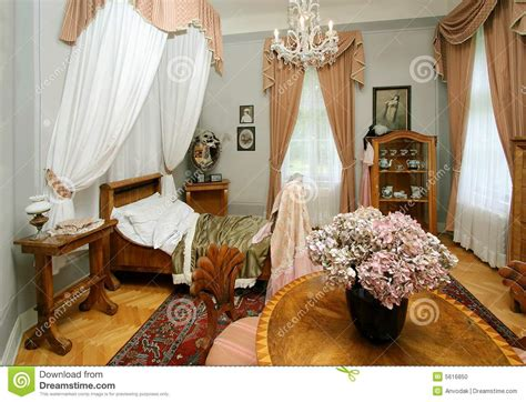stanza da letto antica da letto antica fotografia stock immagine 5616850