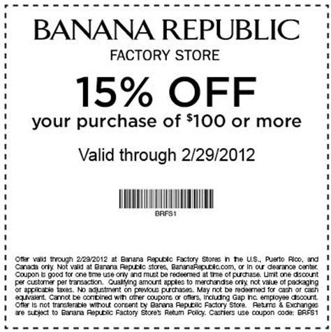 printable coupon outlet banana republic banana republic factory store printable coupon
