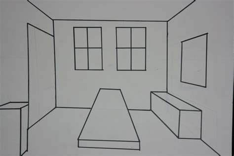 one point perspective bedroom volleyballcheerwinelaughter one point perspective of my