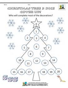 Christmas tree math game on positive affirmations worksheets for